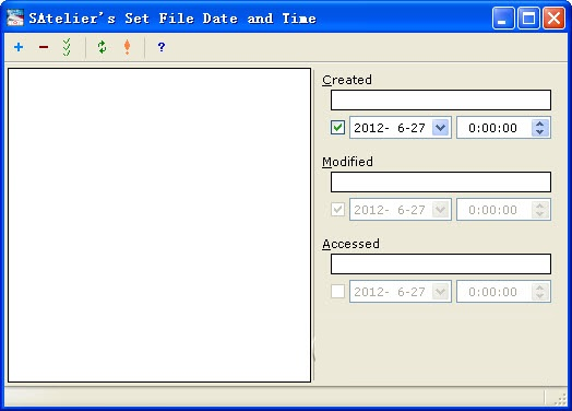 SAteliers Set File Date and Time